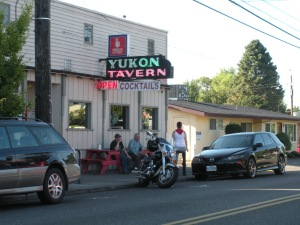 The Yukon Tavern - one of the proverbial Dive Bars visited in the first year of The Tour