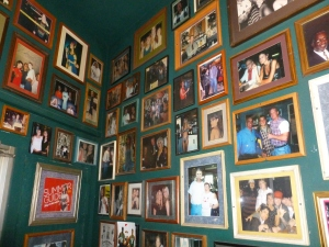 Viewing the main picture wall is worth a visit in itself!