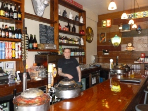 The cordial owner of Beer and Meat Cheese and Bread