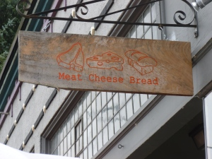 The sandwich shop next door is great for food to consume at Beer
