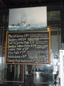 A limited menu but good food at a reasonable price.