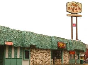 The Original Safari Club in Downtown Estacada