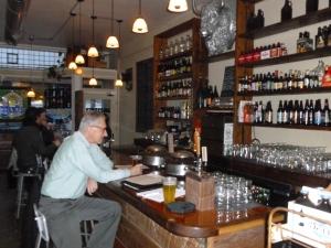 Westwood at Beer drinking beer....