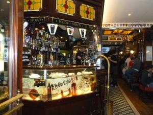 A true pub atmosphere.