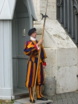 This Swiss Guard gig is an honor, but do we get a brewski when our watch is over?