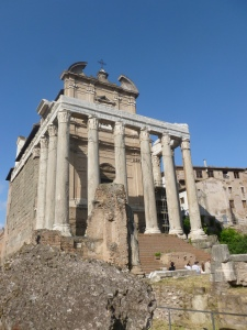 The Glorious history of the Roman Empire - Still visible today.