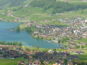 The beautiful Lauterbrunnen Valley