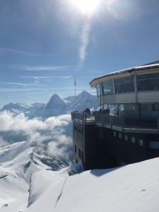 Piz Gloria which houses the James Bond Bar