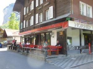A delightful pub in the Swiss Alps