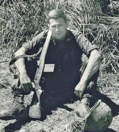 Lt. Jud Blakely USMC in Viet Nam in 1965