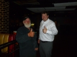 Fred and Scott - A character in a bar with character(s)