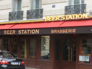 The Beer Station - not one of Paris' finer bars..