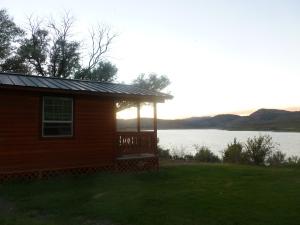 Unity Lake at Sunset