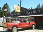 An historic saloon in an historic Oregon city