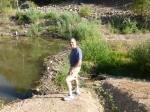 "The ""remains"" of Canyon Lake."