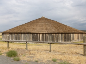 The Round Barn south of Burns