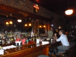 An impressive bar complemented the great food