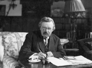 Brilliant, prolific and humorous theologian, philosopher and author, Lord Chesterton