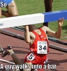 guy walks into a bar