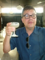 Mansfield in a margarita toast to the 95 Theses