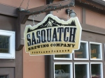 The Sasquatch Brewing Company from our August visit