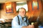 Late crime novelist and beer drinker, James Crumley