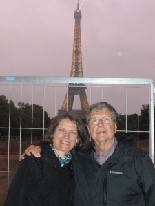 Thebeerchaser and Janet in Paris - summer of 2013