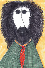 Brian Doyle self portrait - Humor - What humor??
