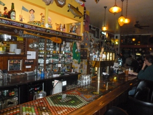 The bar at Saraveza