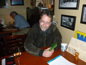 Author and Editor, Brian Doyle, at The Fulsom Brew Pub