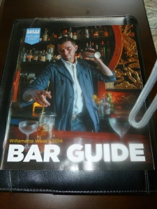 "The Willamette Week annual ""Bar Guide"" - a great resource for Beerchasers....."
