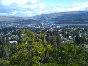 The Dalles - West from the City's official website.