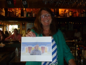 Betty Jean with Thebeerchaser logo