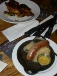 Expansive menu and food quality creates a nice dilemma....