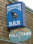 The Fogcutter Bar in Haines - awaiting our next visit....