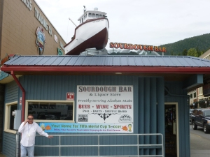 The Sourdough Bar - one of eight in Ketchikan.