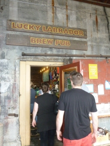 The Lucky Lab - first stop....