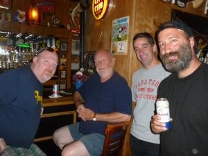 Jovial and Helpful Regulars - and good taste in beer!!