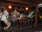 The bar at the Sportsman