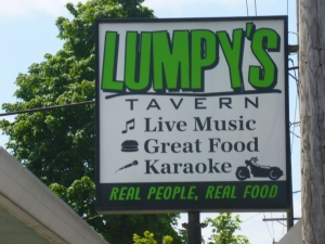 Lumpy's Landing on Highway 18 in Dundee - an inspiration!