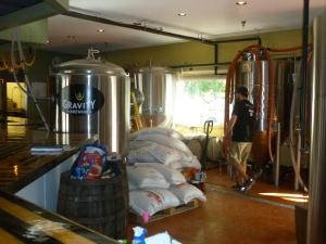 Facilities in the brew pub