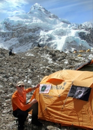 Former Oregon State and NFL defensive tackle, Craig Hanneman, on Mt. Everest climb