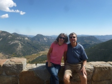 Thebeerchaser and spouse, Janet, road-tripping in Colorado