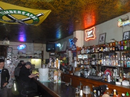 The bar at the Yamhill