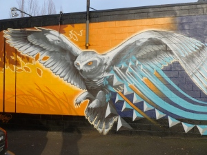 An Ashley Montague mural