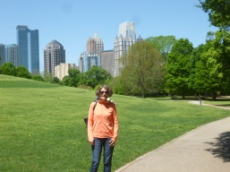 Atlanta's wonderful Piedmont Park - a short walk from Mid-town.