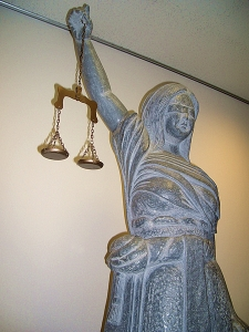 scales of justice from italy