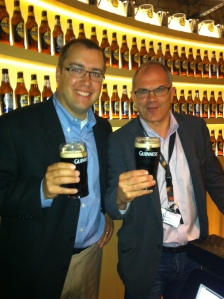 Holloway with Guinness Master Brewer, Fergal Murray