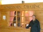 The tavern at the summit of ___ foot Mt. Schilthorn in Switzerland