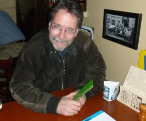Author and editor, Brian Doyle